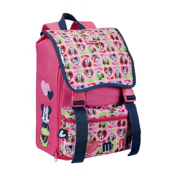 Ergonomic backpack expandable Minnie love Samsonite Disney Wonder