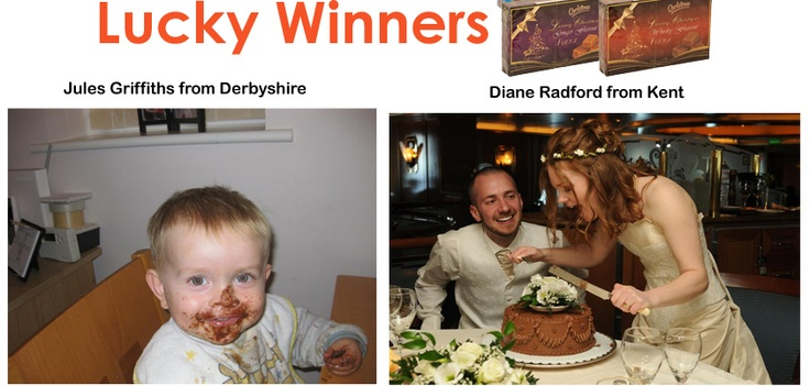 Jules from Derby shire and Diane from Kent won My Best Chocolate Moment Competitions