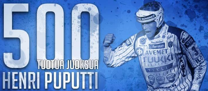 Henri Puputti 500.