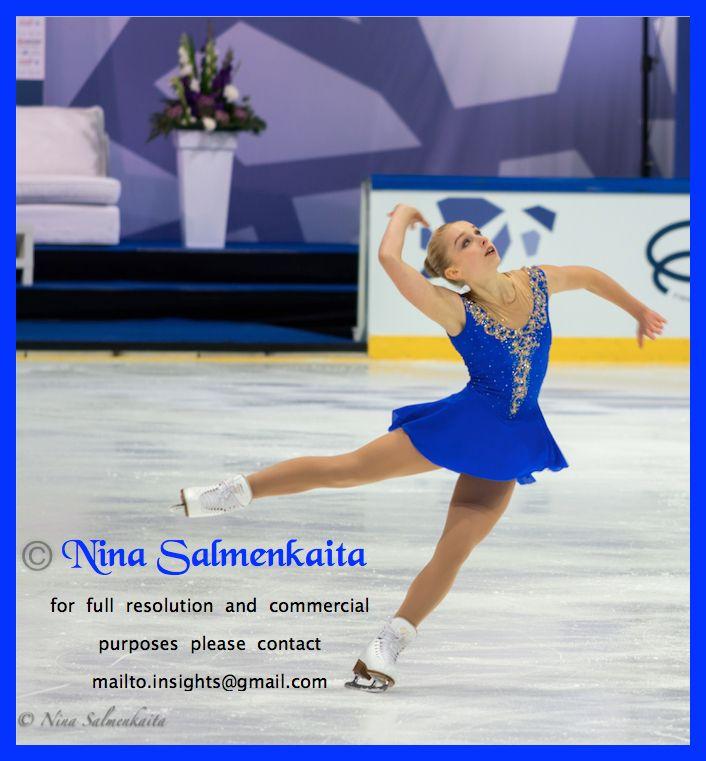 Viveca Lindfors FIN at Finlandia Trophy October 2015