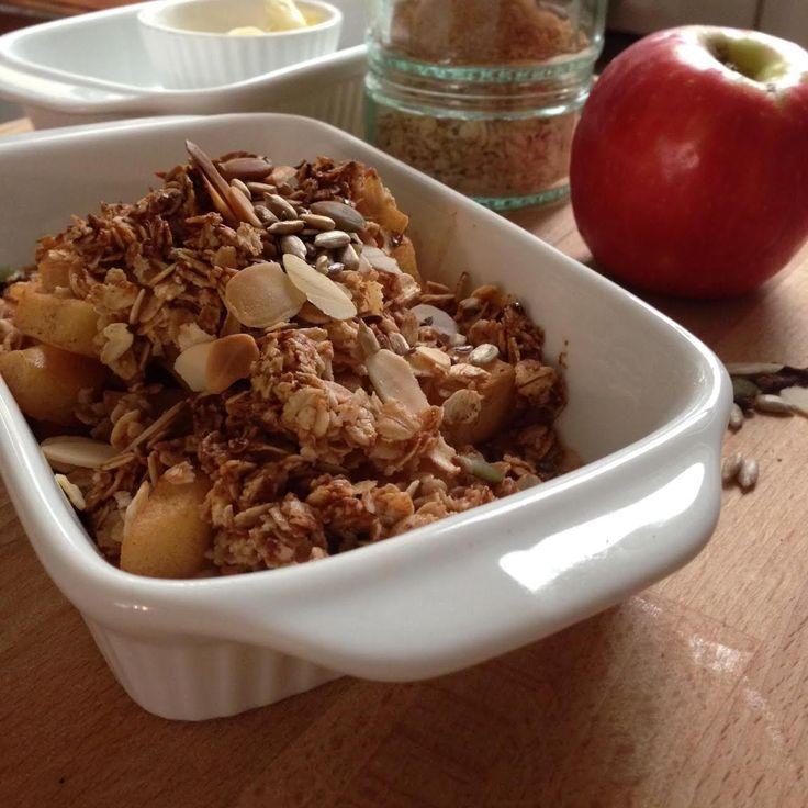 Chai-Apple Crumble Muesli - I Quit Sugar