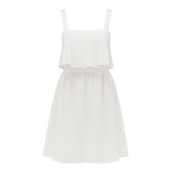 Kylie tiered broderie dress