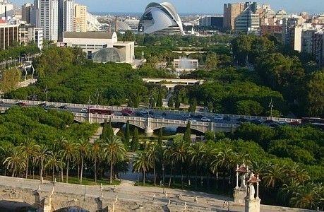 Valencia: Turia River Park Bike Path Work Has Begun