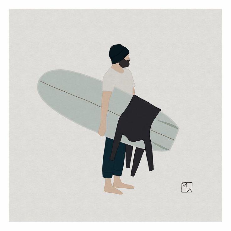 Matthew  (también en Tumblr  e Instagram ) es un surfista y artista que vive en una zona rural del sur de Gales, cerca de la costa. Después ...