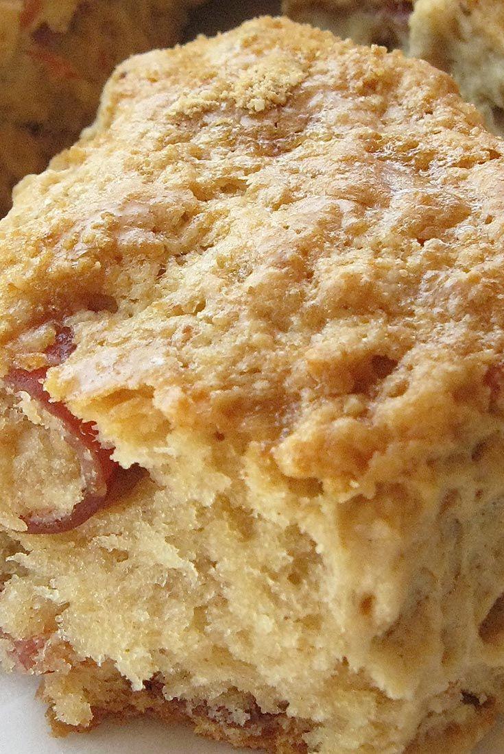 Maple Bacon Scones Recipe
