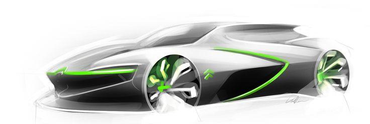 David Voltner - AFAD - Citroën - Free sketch