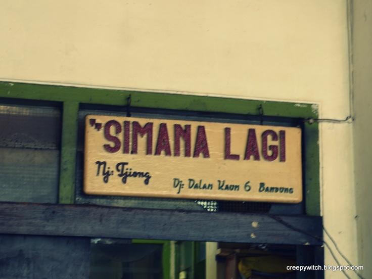 Pisang Goreng Simanalagi, Jalan Dalem Kaum, Bandung, Indonesia