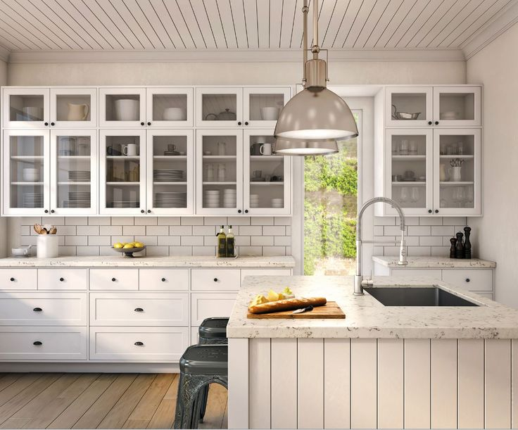 Laminex Classic White Satin Formwrap Doors Settler
