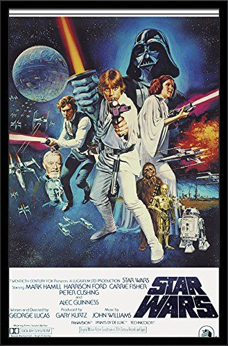 "Trends International Star Wars IV One Sheet Collector's Edition Wall Poster 24"" x 36"" //Price: $8.95 & FREE Shipping //     #starwarsmeme"