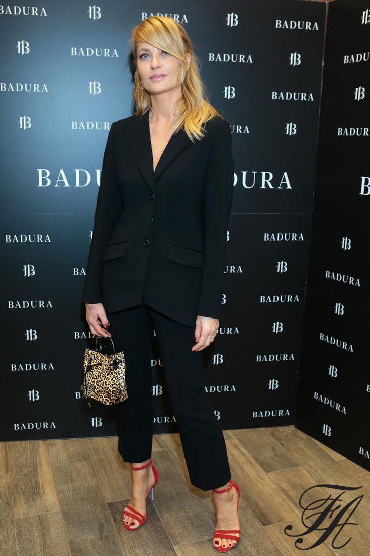 Aneta Kręglicka.#fashion #style #suit #celebritiies #black #ss17 #model