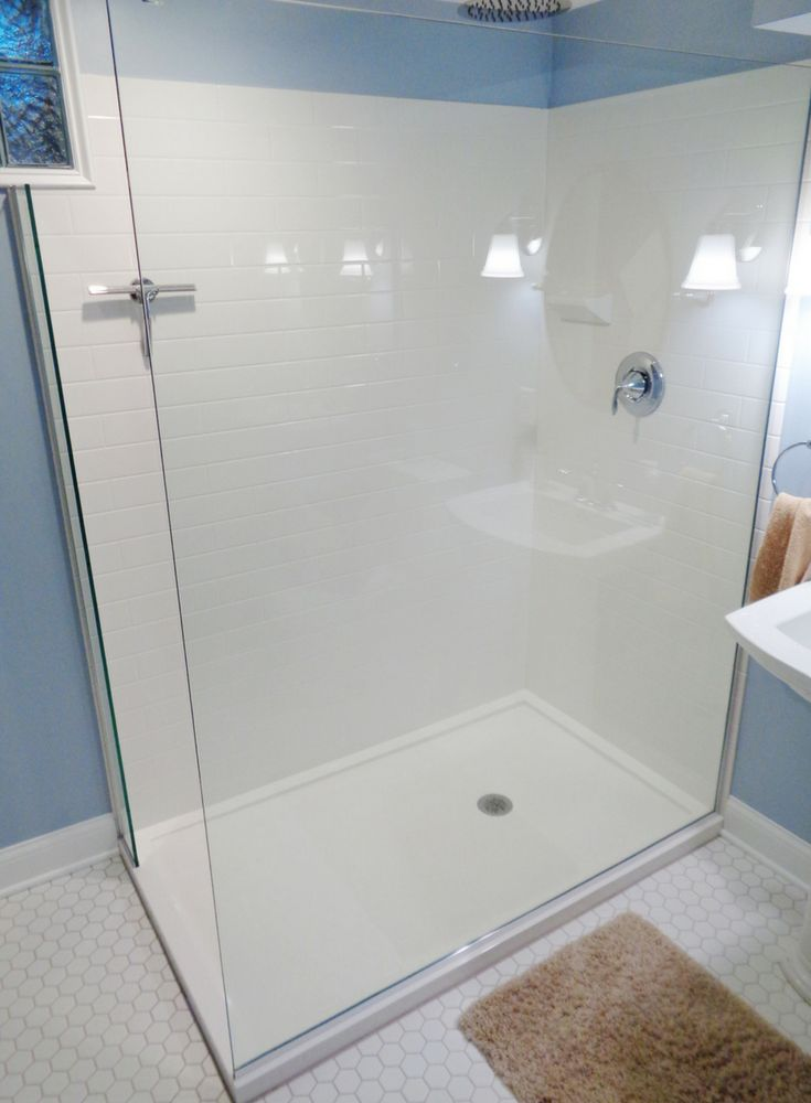 Solid Surface Vs Ready For Tile Shower Pans The Ultimate Showdown Shower Pan Tile Shower Remodel Tub To Shower Remodel