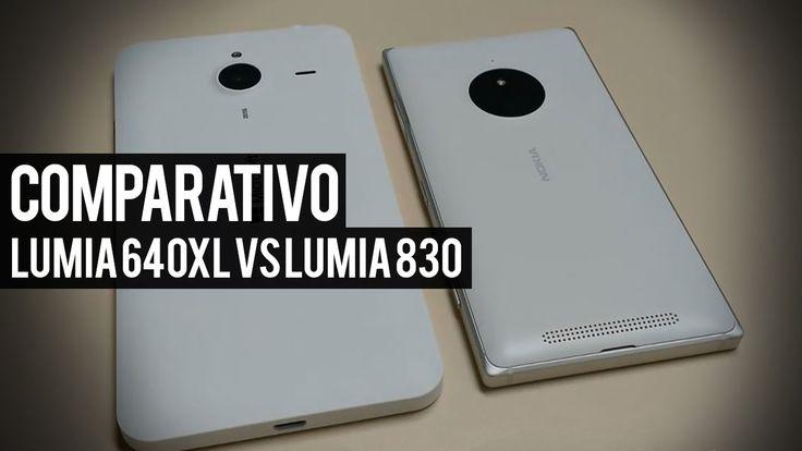 Lumia 640XL vs Lumia 830 Comparativo Detalhado