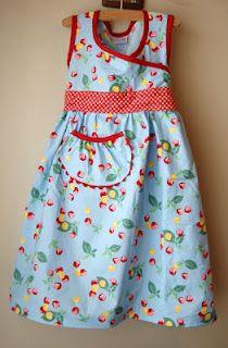 """free dress pattern (no buttons or zippers): """"Good Deeds Dress"""""""