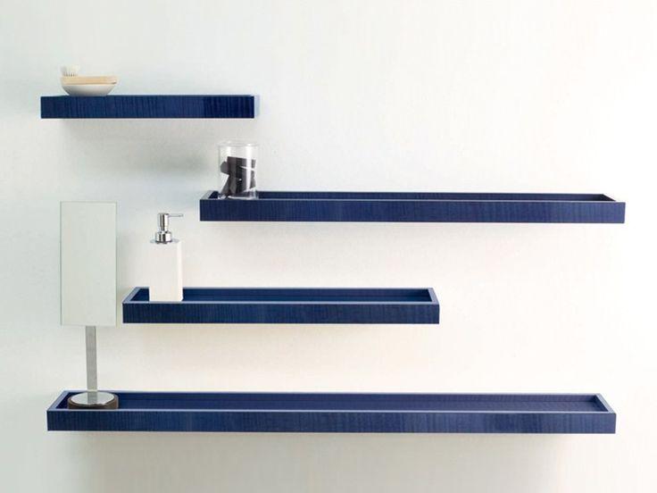 Навесные полки для ванной комнаты - Juke Box - http://mebelnews.com/navesnye-polki-dlya-vannoj-komnaty-juke-box