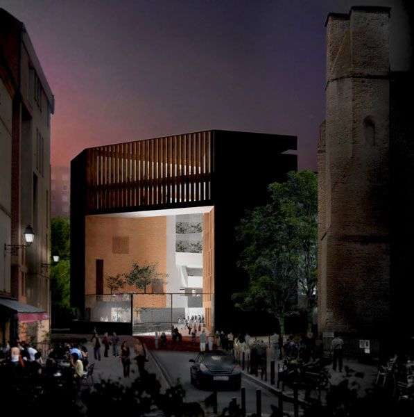 207 best images about toulouse on pinterest museums tag for Architecture toulouse