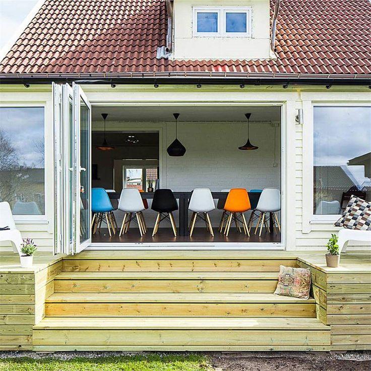 Vikdörr Vilenta Sälen PVC - Skjutdörrar altan - Ytterdörrar - Bygghemma.se