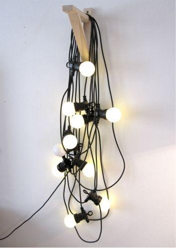 Idée guirlande - simplement...  #light #deco #decoration
