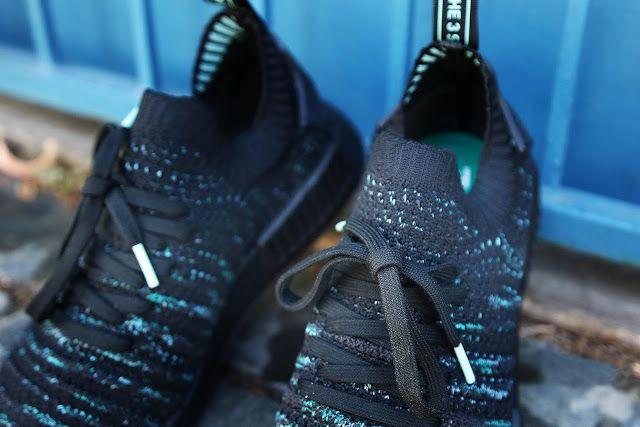 Swag Craze  First Look  adidas Originals x Parley NMD R1 STLT - Core Black 8f9ef5374