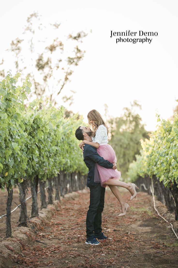 Lorimar Winery Engagement Photo Shoot