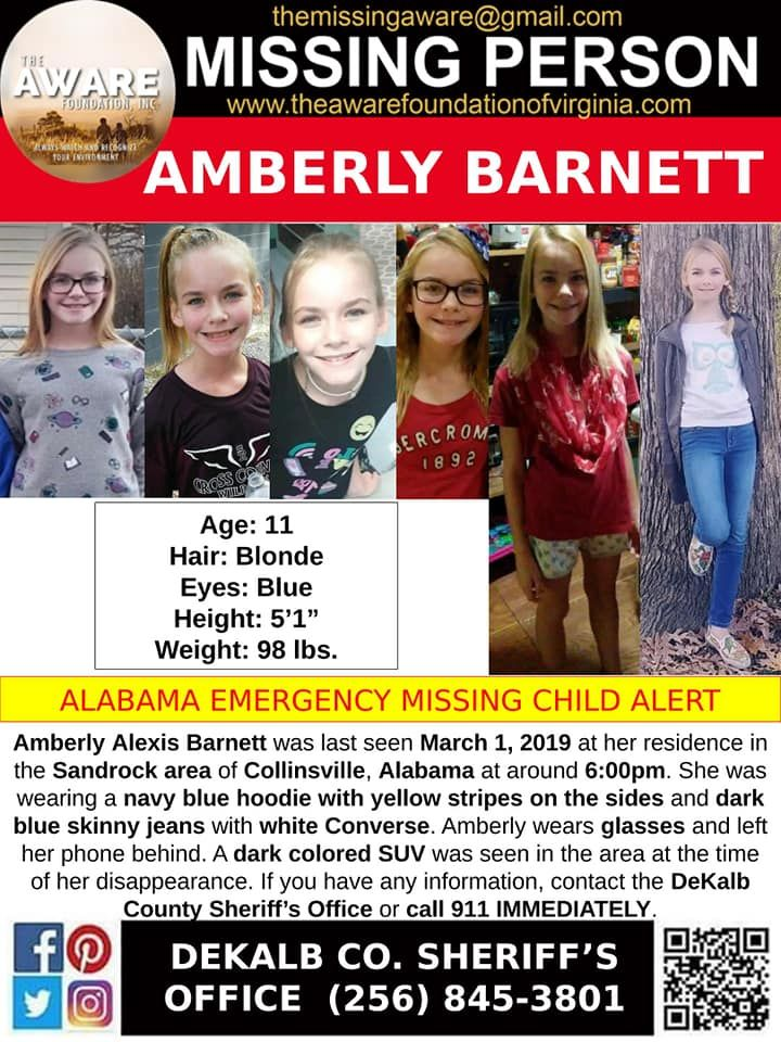 Find Missing Amberly Alexis Barnett! ***(TRAGIC UPDATE: BODY FOUND