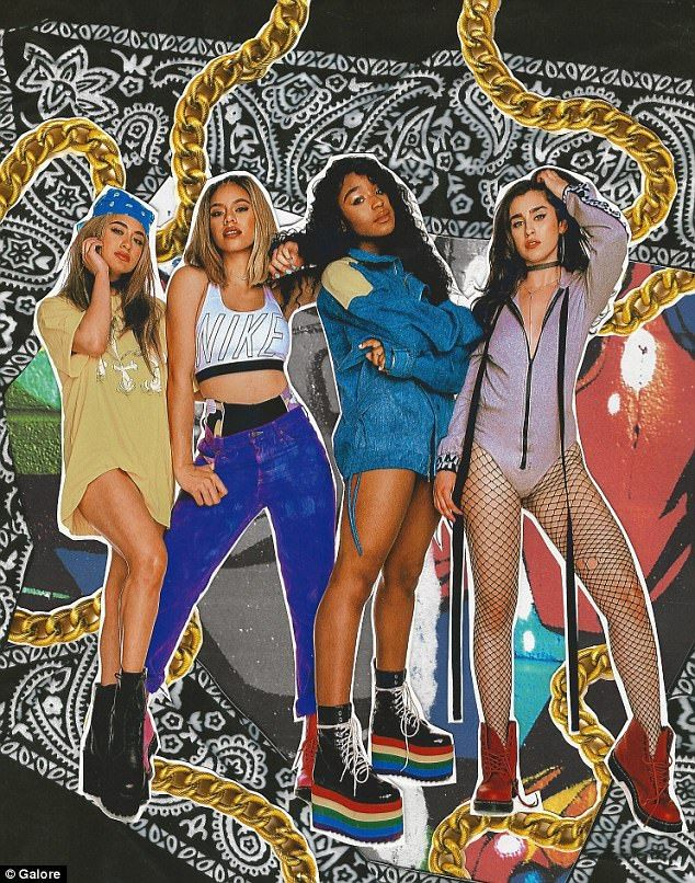 Fifth Harmony's remaining members insist they 'are really in sync' #dailymail