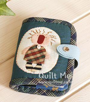 퀼트미 [지폐&카드 한가득 지갑(블루)]