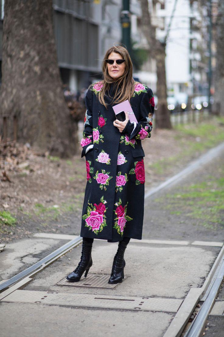 Anna Dello Russo Milan Fashion Week 2018 Fashionista