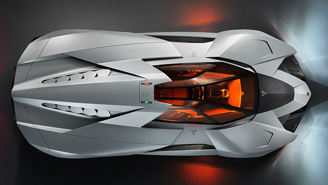 Egoista overview The Lamborghini Egoista – The Maddest Bull Ever
