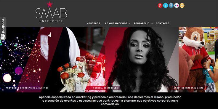 Sitio web para SMAB Barranquilla - Año ©2012
