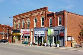 Image result for small town bank