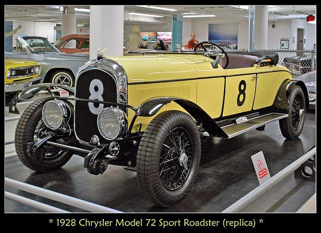 1928 Chrysler Model 72 Le Mans race car by sjb4photos, via Flickr