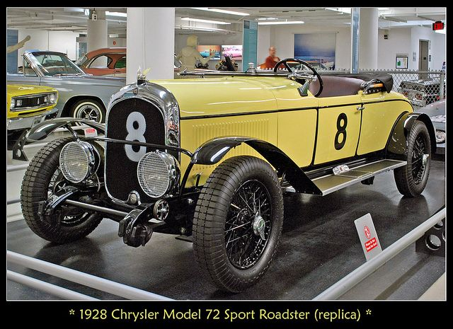 1928 Chrysler Model 72 Le Mans race car by sjb4photos, via Flickr