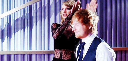 They have a healthy competition that motivates them to be better. | 23 Times Taylor Swift And Ed Sheeran's Friendship Ruled Everything