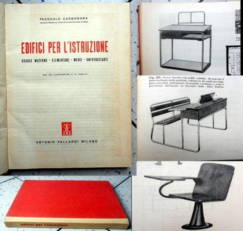 Architettura Design: EDIFICI PER ISTRUZIONE Scuole Università Progettazione 1947