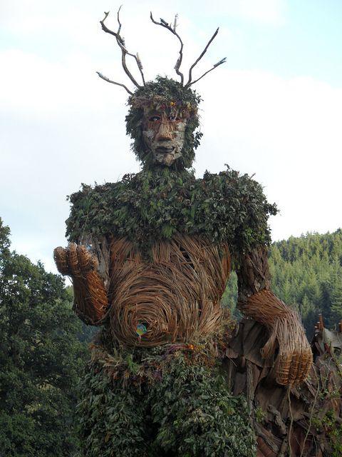 Druids Trees:  Green Man.