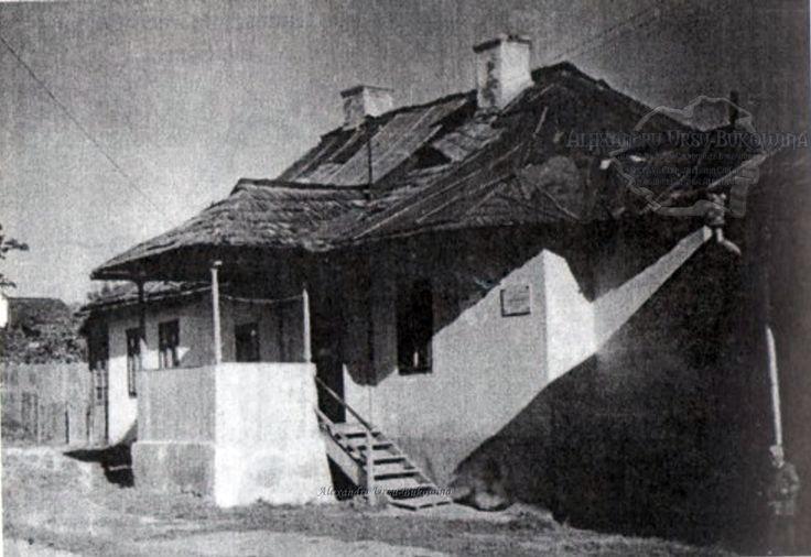 Suceava. Plasa Bosancea. Oraşul Suceava. Casa din Suceava, în care a locuit Ciprian Porumbescu