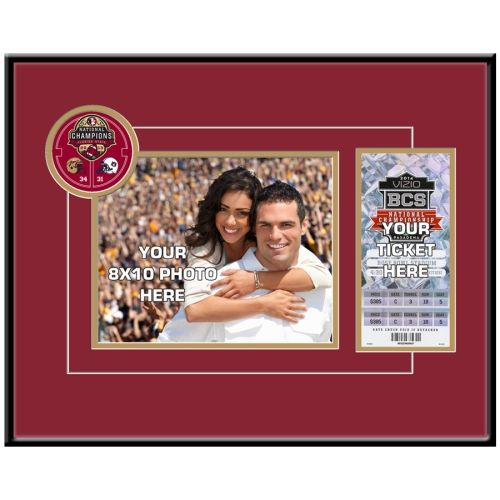 florida state seminoles fsu 2013 national football champions your 8 x 10 photo ticket frame