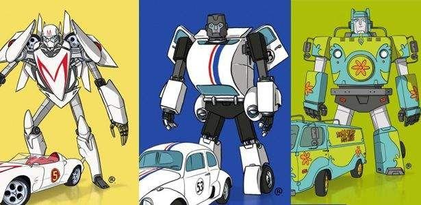 Já tivemos muitos carros famosos na história dos filmes, séries e desenhos animados. A Máquina do Mistério de Scooby-Doo e sua turma, bem como o DeLorean de De Volta Para o Futuro são apenas alguns exemplos. Mas e se esses carros fossem, na verdade, Transformers? Foi essa a premissa que serviu de pano de fundo …