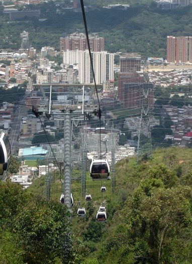 Telesferíco - Parque Nacional el Avila. Caracas