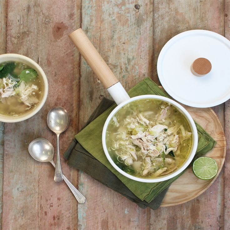Learn how to make this deliciously hearty chicken soup! It's super quick, super easy and super tasty. #Woolworths #Recipe #Chicken #Soup #WhatsForDinner #Winter https://www2.woolworthsonline.com.auShop/Recipe/3663