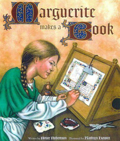 Marguerite Makes a Book (Getty Trust Publications: J. Paul Getty Museum) by Bruce Robertson, http://www.amazon.com/dp/089236372X/ref=cm_sw_r_pi_dp_CCYdrb1ZDRM8A