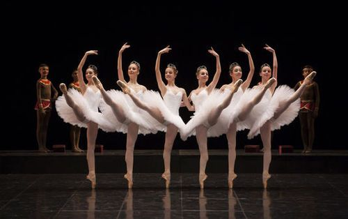 "Paris Opéra Ballet School dancers in ""La Nuit de Walpurgis"" for the Tricentenary Gala. Photo © Sébastien Mathé."