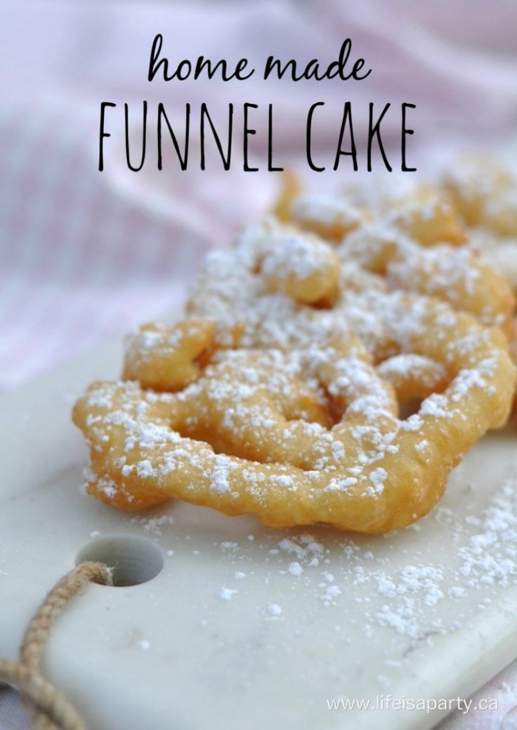 Home Made Funnel Cakes
