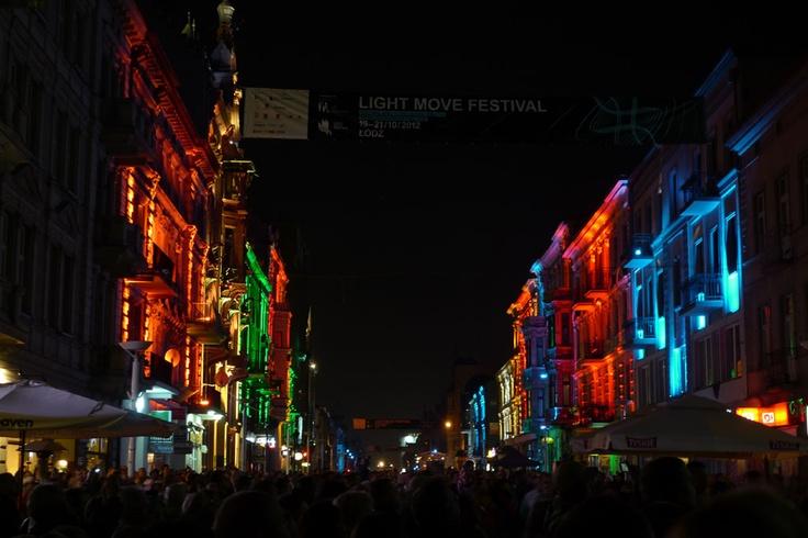 Light Move Festival. Łódź