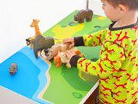 Klebefolie IKEA Kindertische