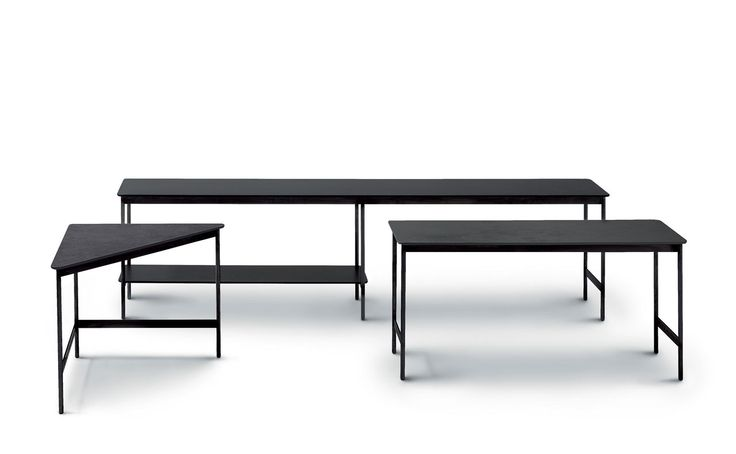 Capilano tables by Luca Nichetto for Arflex.