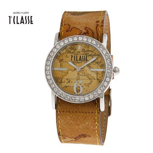 Gli orologi Alviero Martini 1A Classe si ispirano all'era dei viaggi leggendari e alle esplorazioni della belle époque.