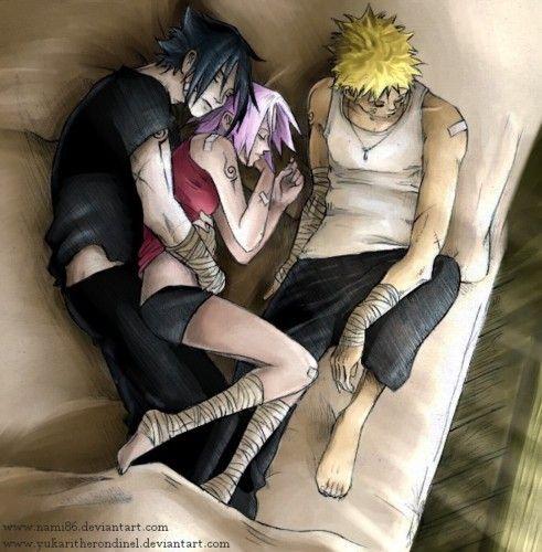 Naruto, Sasuke and Sakura... how it should be!!