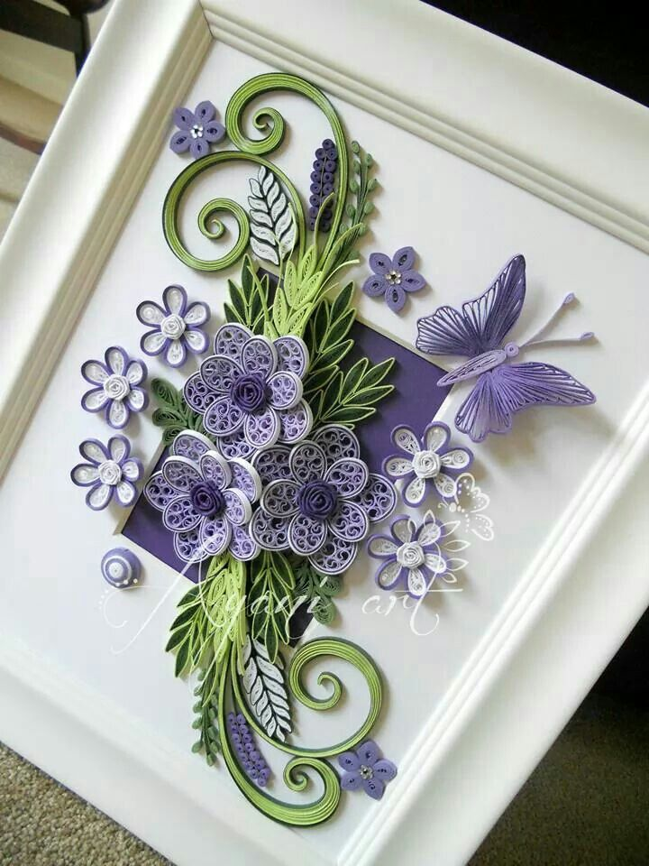 69 best images about quilling frames on pinterest for Best quilling designs