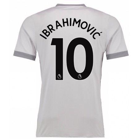 Manchester United Zlatan Ibrahimovic 10 3 trøje 17-18 Kort ærmer